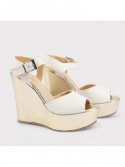 Sandales à plateforme Made...